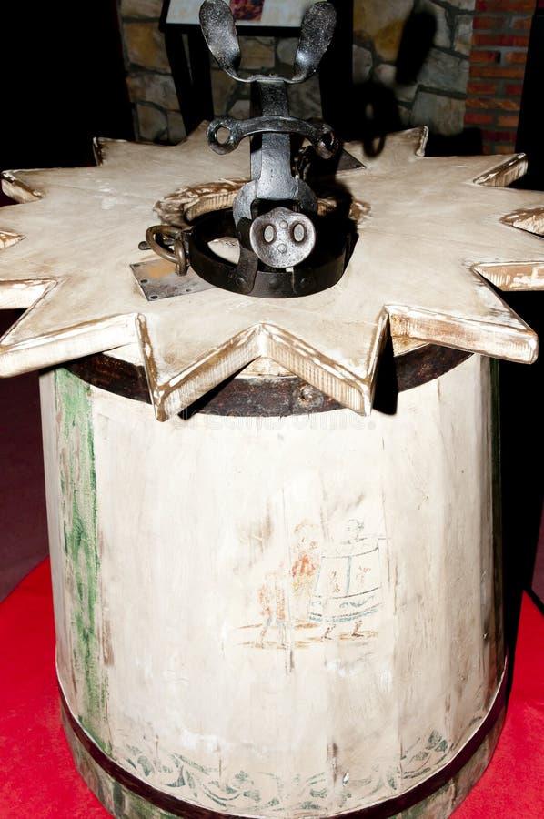 Apparat för tortyr för kappa för alkis` s royaltyfria foton