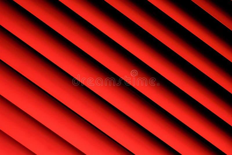 Apparater för skydd för rullgardinrosa färger bakgrund-effektiva ljusa från horisontalslats Slats kan fixas, eller roterande, reg arkivbilder