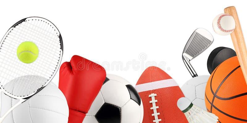 Apparatuur 1 van de sport stock afbeeldingen