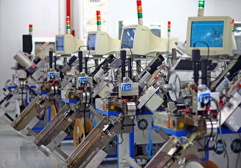 Apparatuur en machines stock afbeeldingen