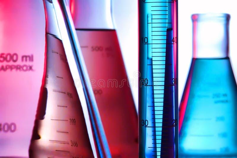 Apparatuur in het Laboratorium van het Onderzoek van de Wetenschap royalty-vrije stock afbeeldingen