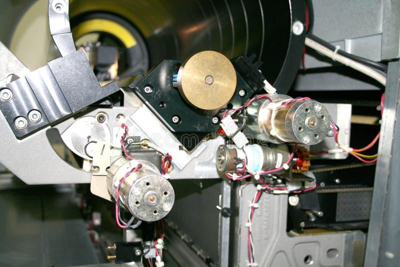 Apparatuur met drie motoren royalty-vrije stock fotografie