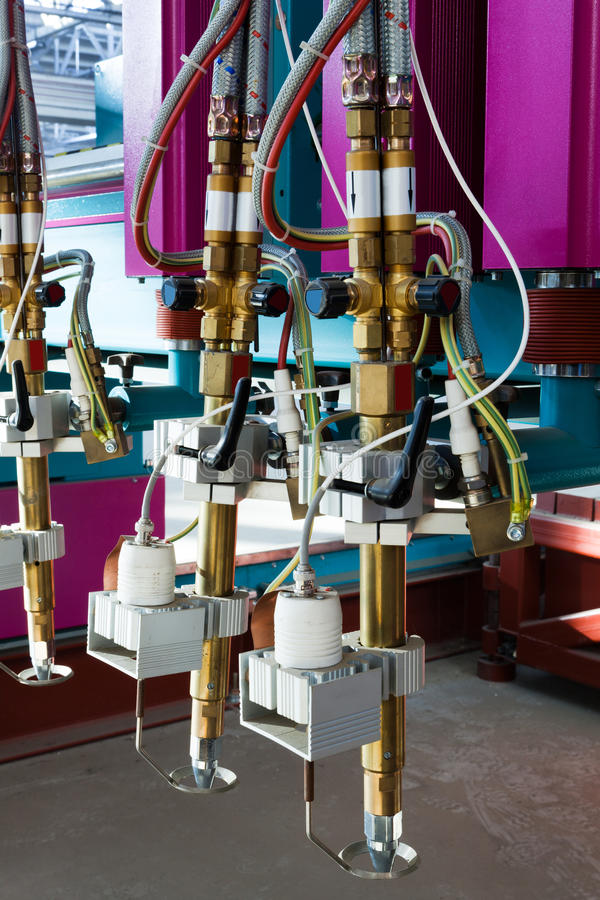 Apparatuur voor metaalverwerking royalty-vrije stock foto
