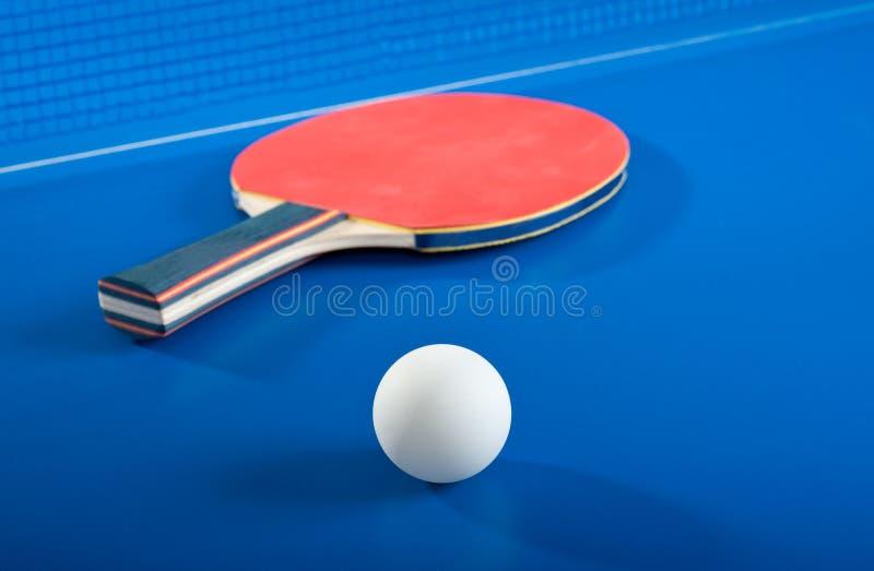 Apparatuur voor pingpong royalty-vrije stock fotografie