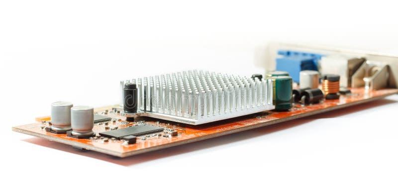 Appareil électronique avec le refroidissement de radiateur photos libres de droits