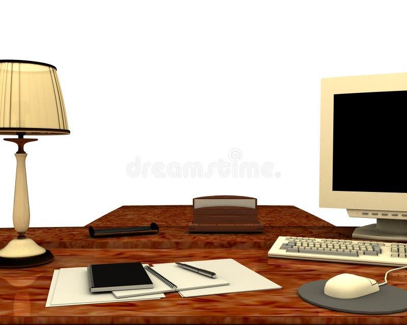 Appareil de bureau illustration libre de droits
