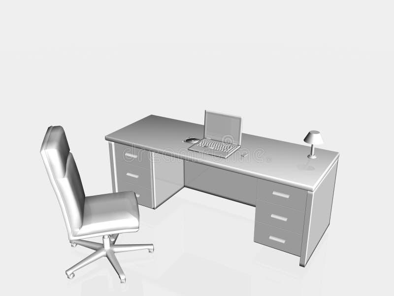 Appareil de bureau. illustration de vecteur