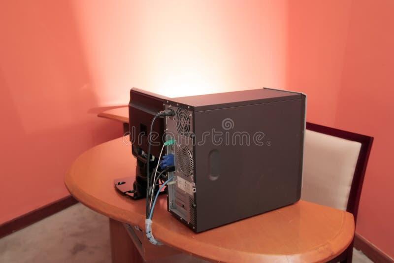 Appareil de bureau d'ordinateur image libre de droits