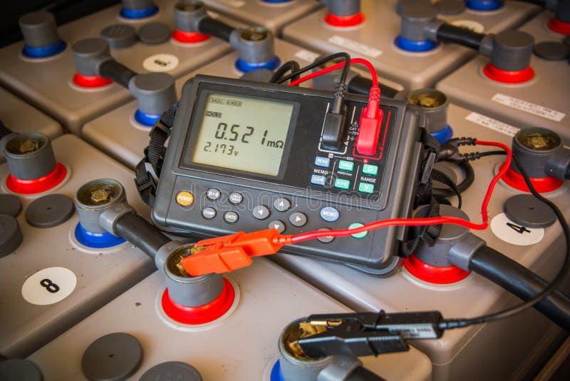 Appareil de contrôle de batterie de Digital photos libres de droits