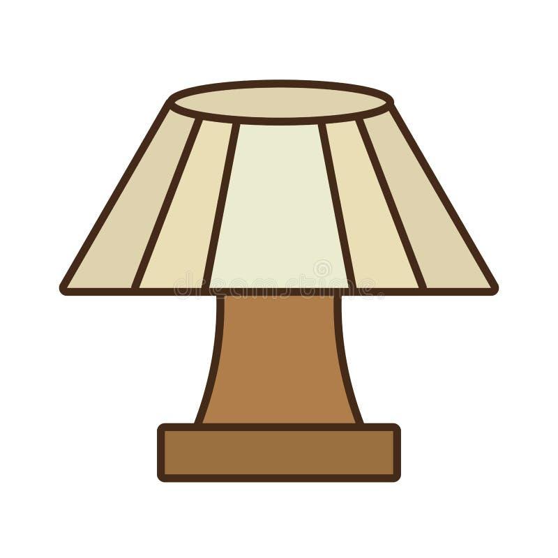 appareil de maison de lampe de table décoratif image stock