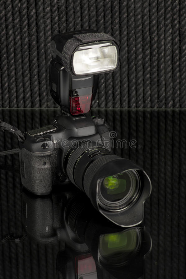 Appareil-photo photographie stock libre de droits