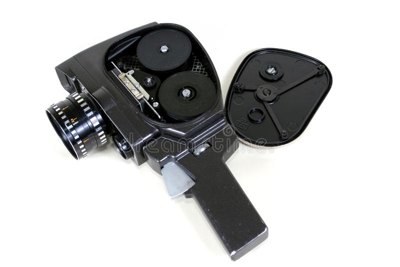 appareil-photo antique de 8mm photo libre de droits