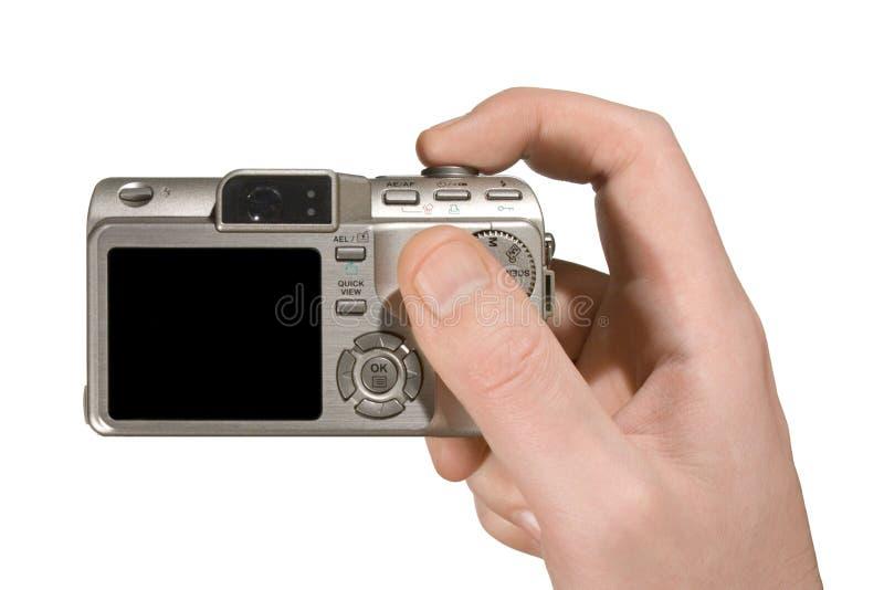 Appareil-photo compact à disposition photos libres de droits