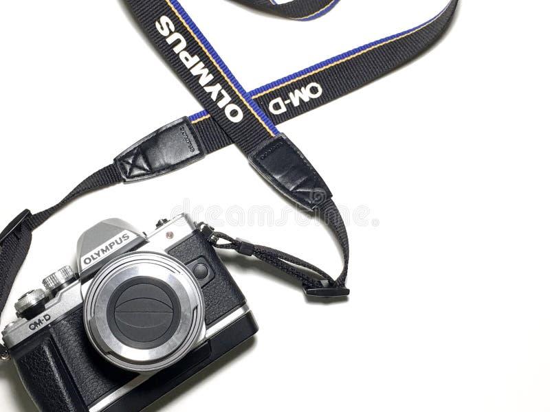 Appareil-photo d'Olympe photos libres de droits