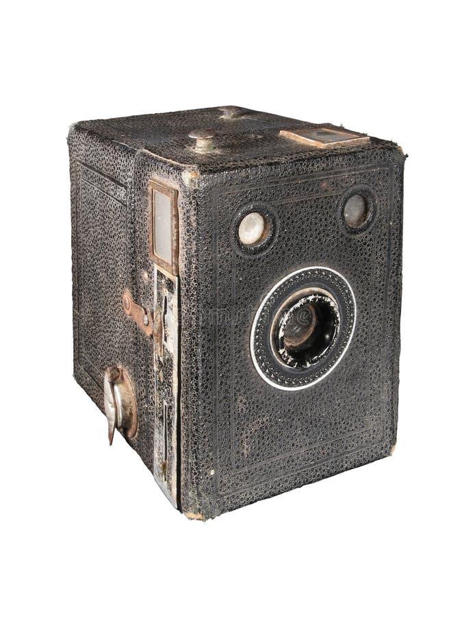 Appareil-photo de cadre antique images libres de droits