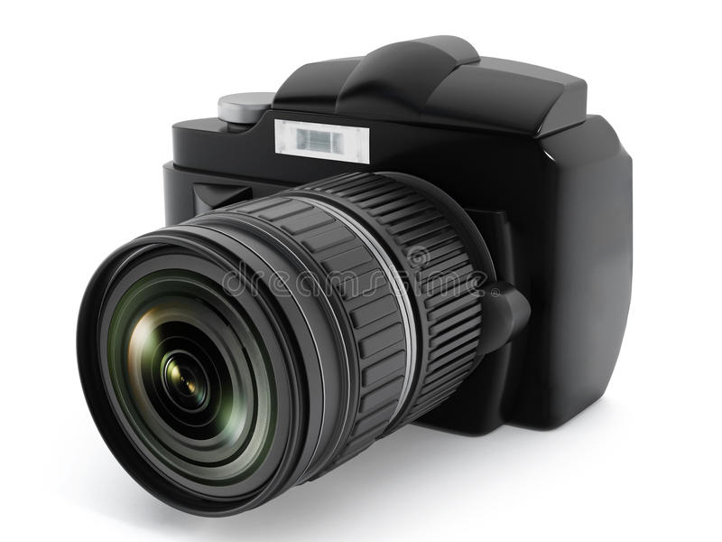 Appareil-photo de Digital SLR photographie stock