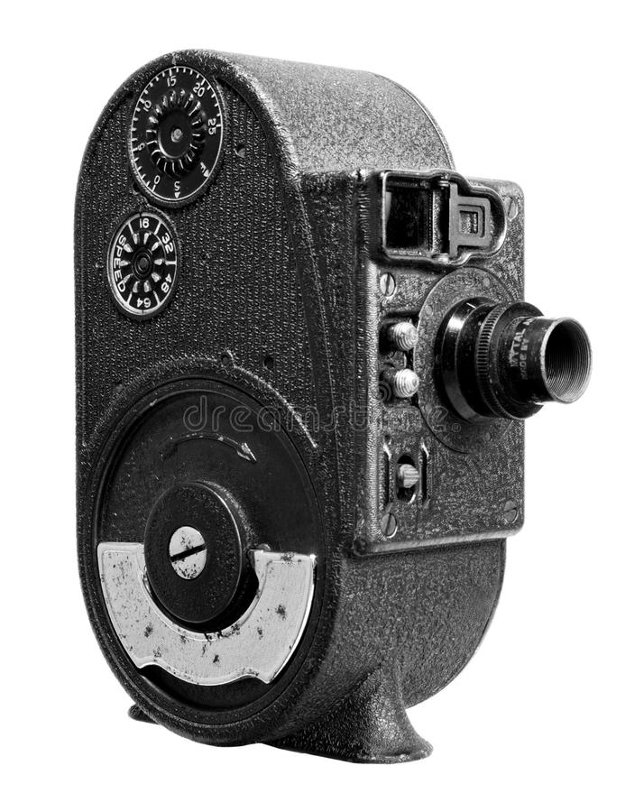 Appareil-photo de film de film de remontage images libres de droits