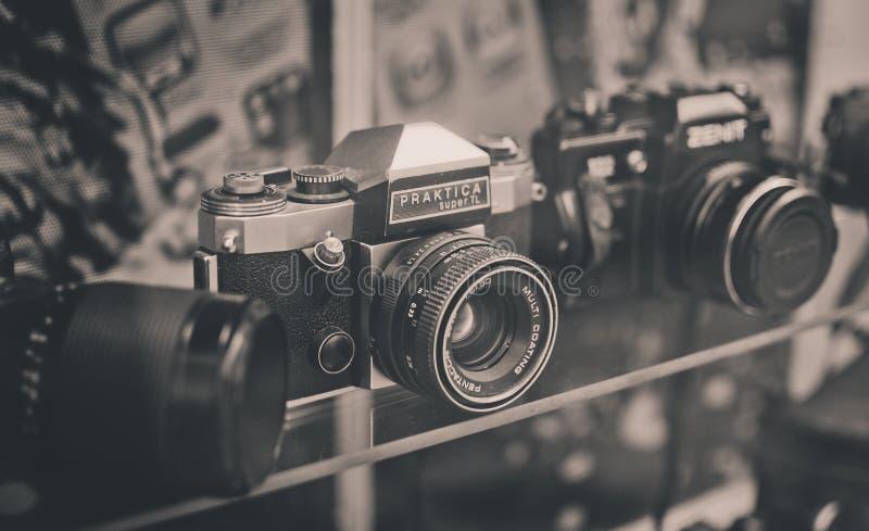 Appareil-photo de Praktica photographie stock libre de droits