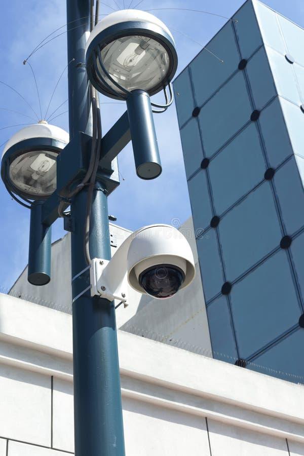 Appareil-photo de rue de surveillance photos libres de droits