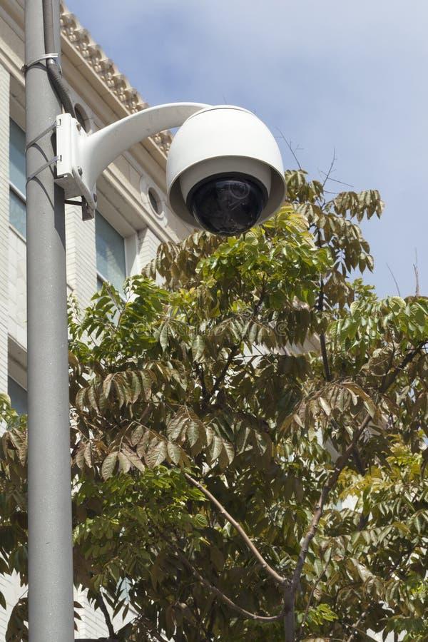 Appareil-photo de rue de surveillance image libre de droits