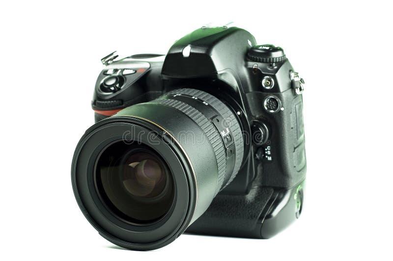 Appareil-photo de slr de Digitals photographie stock libre de droits