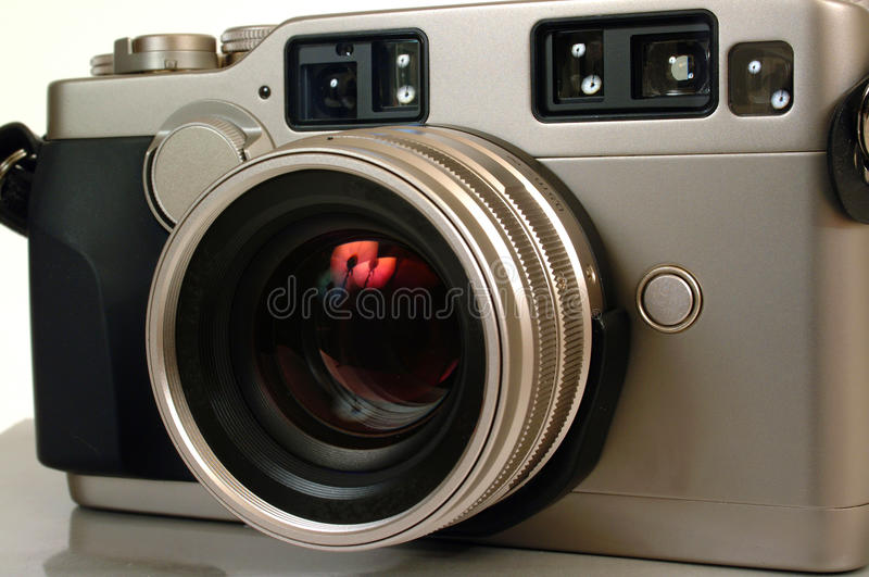 Appareil-photo de télémètre image stock