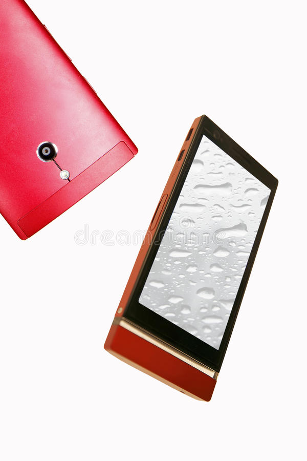 Appareil-photo de téléphone portable photo libre de droits
