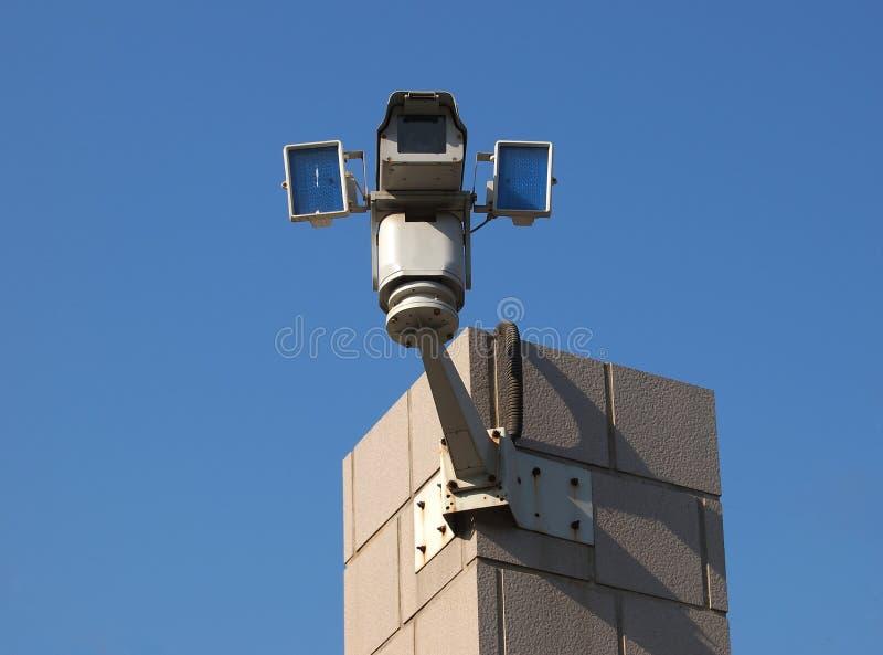 Appareil-photo de télévision en circuit fermé photographie stock libre de droits
