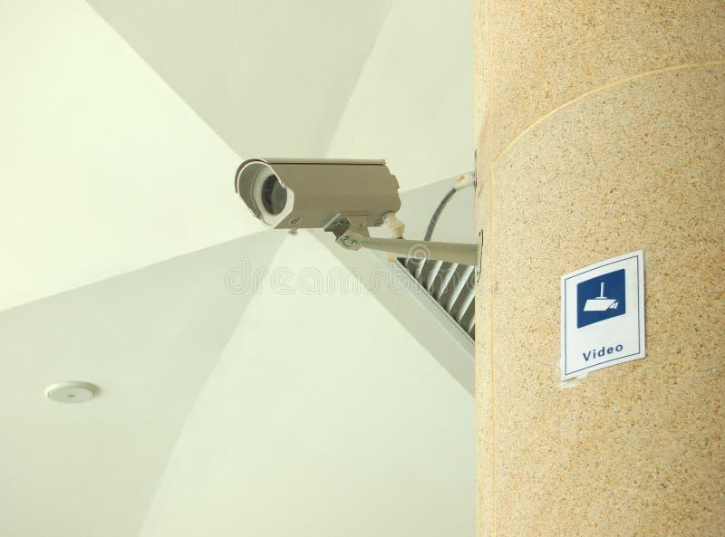 Appareil-photo de télévision en circuit fermé photo stock