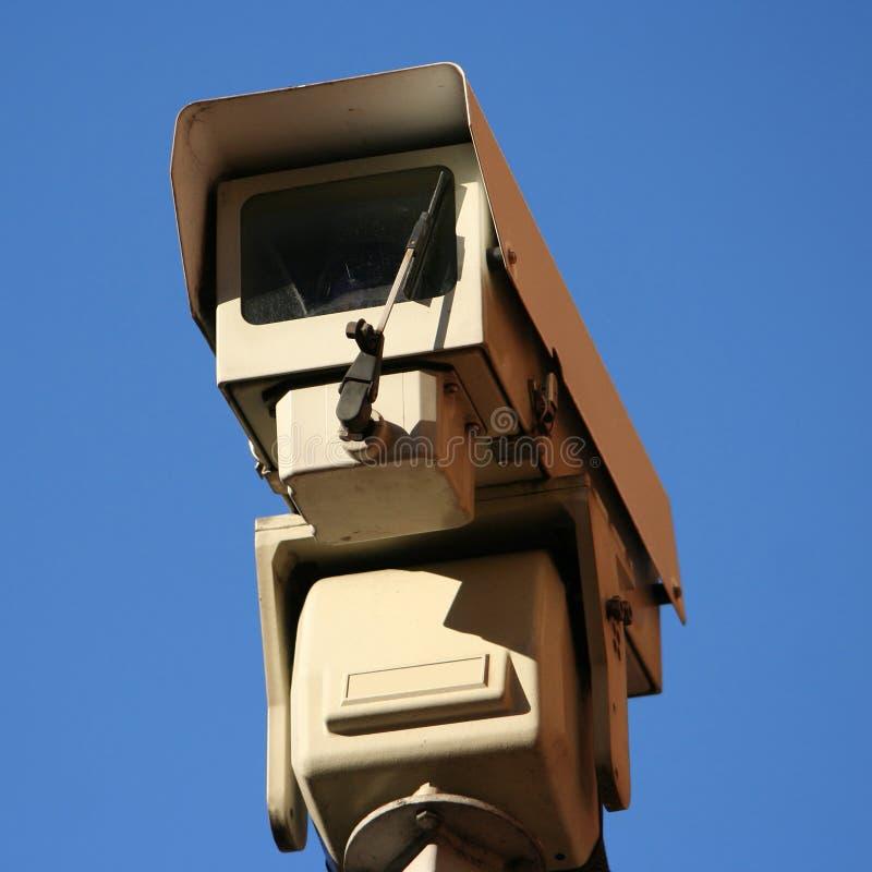 Appareil-photo de télévision en circuit fermé photographie stock