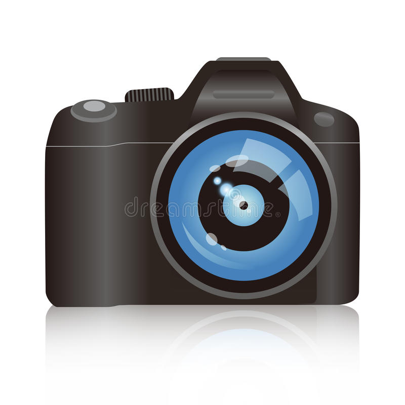 Appareil-photo De Vecteur Photos libres de droits
