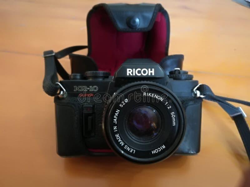 Appareil-photo de vintage de Ricoh photo libre de droits