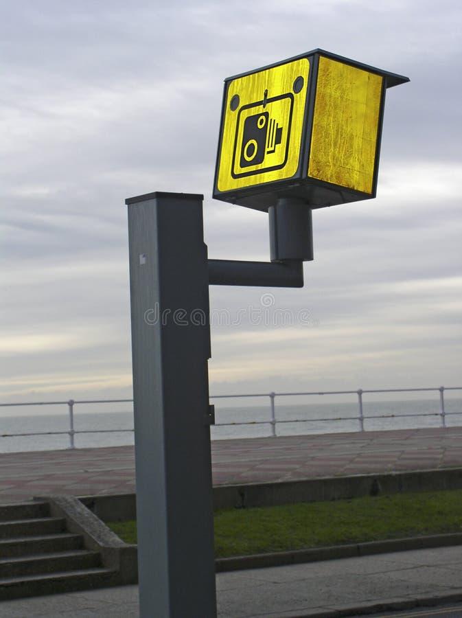 Appareil-photo De Vitesse De Route Images stock