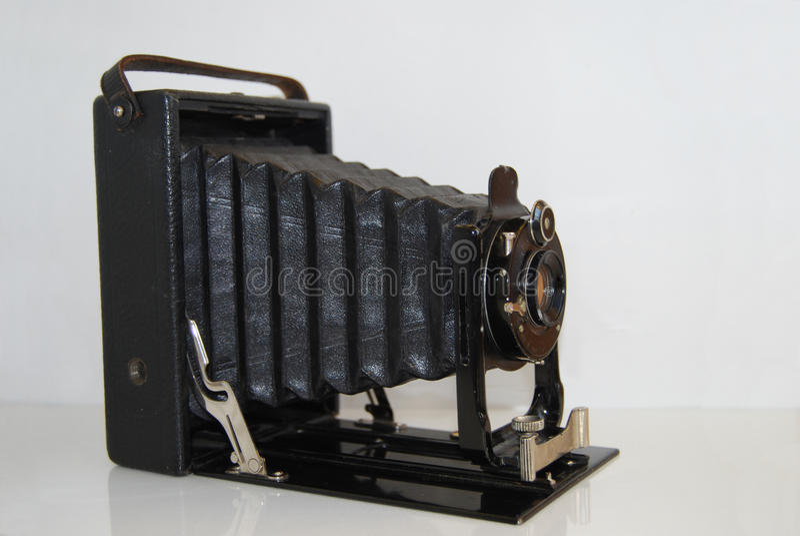 Appareil-photo du cru 35mm SLR photographie stock