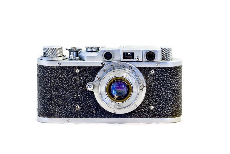 Appareil-photo du cru 35mm SLR image libre de droits