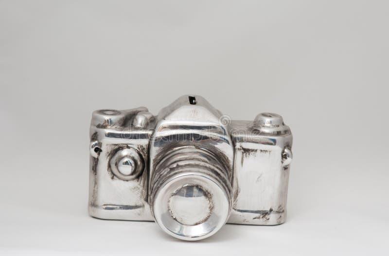 Appareil-photo en aluminium images libres de droits