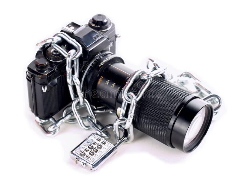 Download Appareil-photo enchaîné image stock. Image du technologie - 728919