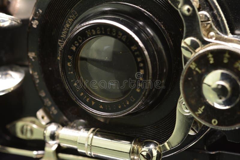 Appareil-photo Ernemann de vintage images stock