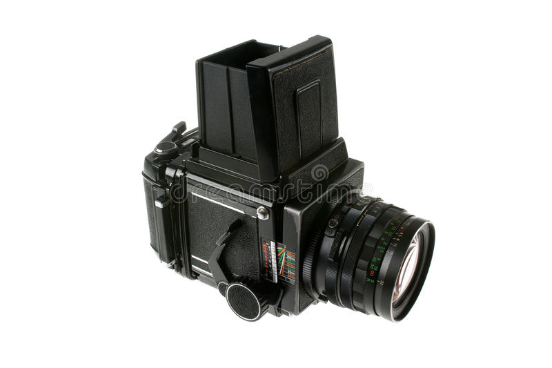 Appareil-photo moyen de format images libres de droits
