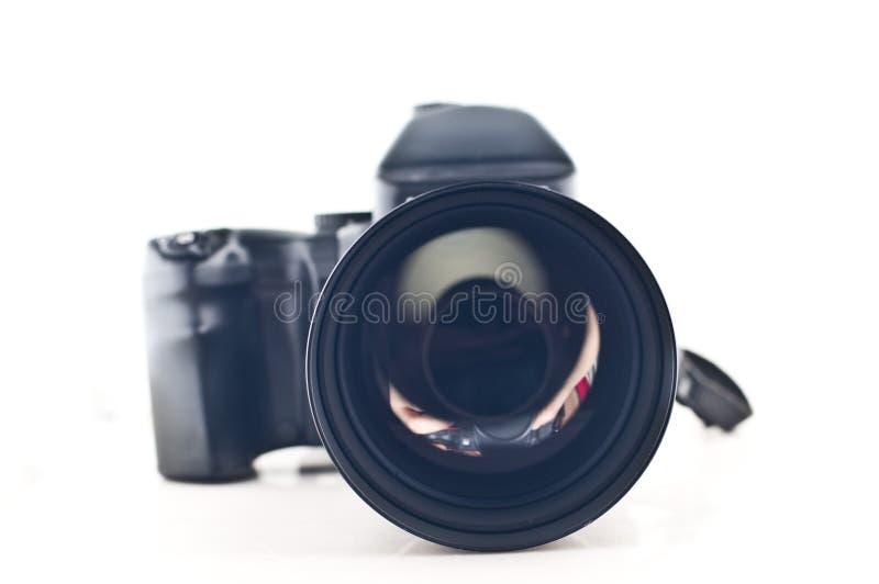 Appareil-photo moyen de format photos libres de droits