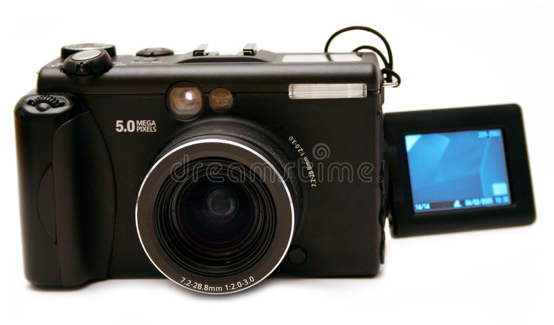 Appareil photo numérique 2 photographie stock libre de droits
