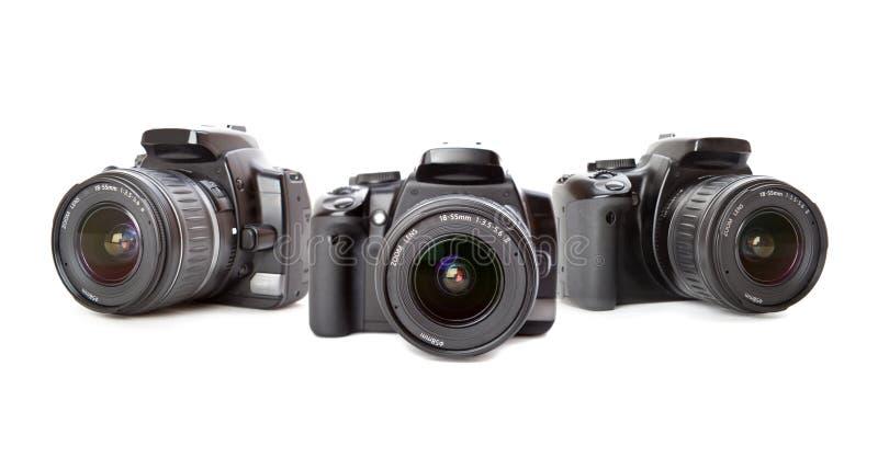 Appareil photo numérique moderne images libres de droits