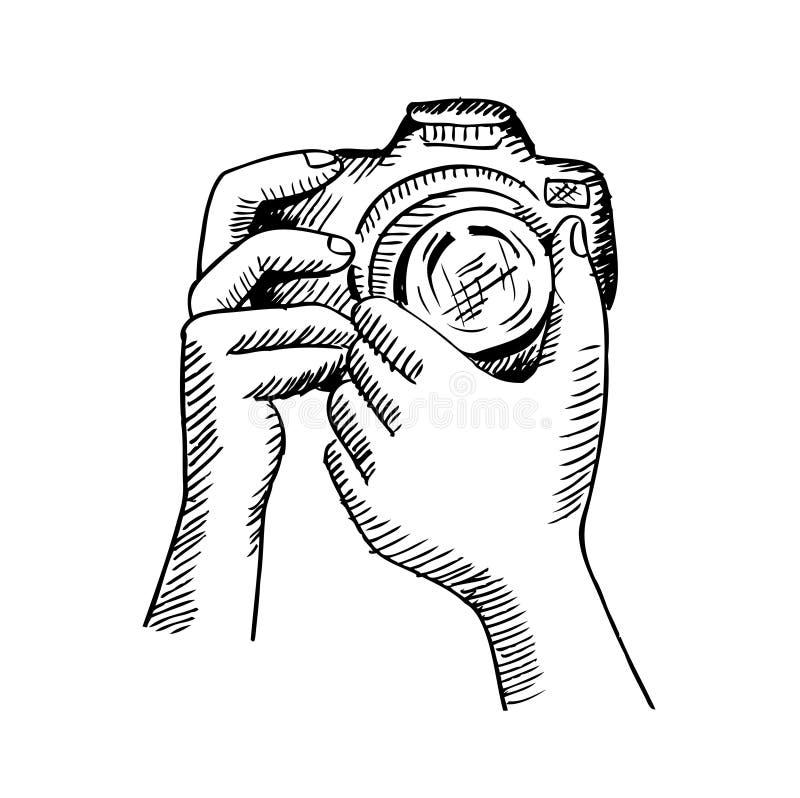 appareil photo ornemental illustration de dessin de main illustration stock illustration du. Black Bedroom Furniture Sets. Home Design Ideas