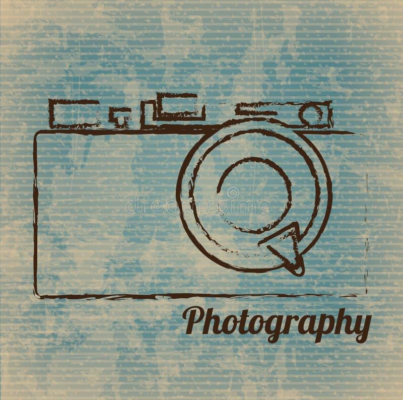 Appareil-photo photographique illustration de vecteur