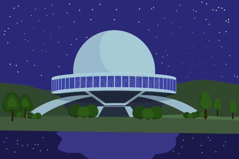 Appareillage de planétarium pour la projection illustration stock