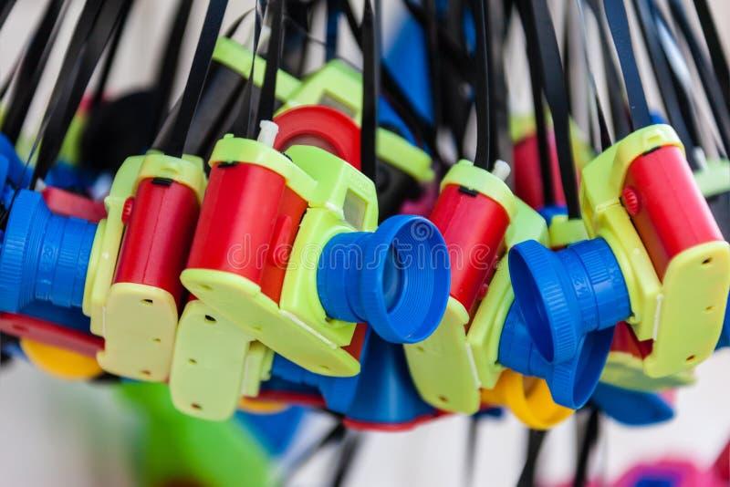 Appareils-photo de jouet images stock