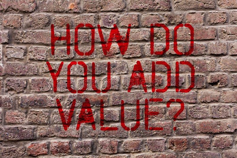 Apparence de note d'écriture comment vous ajoutez la question de valeur La présentation de photo d'affaires améliorent la product illustration de vecteur