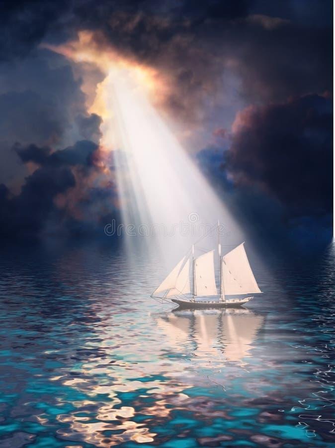Apparition illustration stock