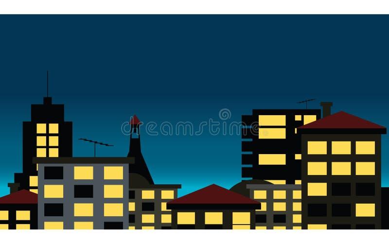Appartamenti illustrazione vettoriale