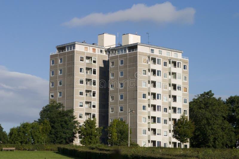 Appartamenti 7 fotografia stock